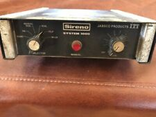 Vintage Sireno System 1000 radio PA