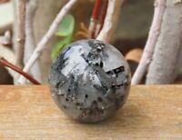 Top Quality Tourmaline Quartz Crystal Sphere ~ Omni New Age