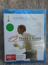 12 YEARS A SLAVE CHIWETEL EJIOFOR PAUL DANO MA BLU RAY,SEALED AUSTRALIA