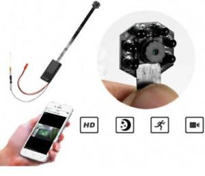 Microcamera SPIA ip WIFI nascosta 1080p SPY camera mini dv DVR incorporato