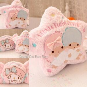 Cute Candy My Melody Stars Gemini Plush Pillows Cushion Soft Girl Gift Christmas