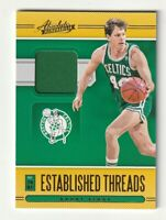 2020-21 Panini Absolute Jersey Patch Established Threads Danny Ainge Celtics