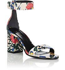 $795 NEW BALENCIAGA Floral Arena Sandals Heels SoldOut BARNEYS YOOX Sz 37 7 7.5