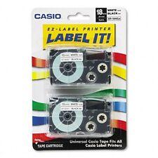 Casio Label Printer Tape - XR18WE2S