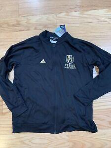 Adidas NHL Authentic Collection Las Vegas Golden Knight FZ Jacket Sz XL CV6101