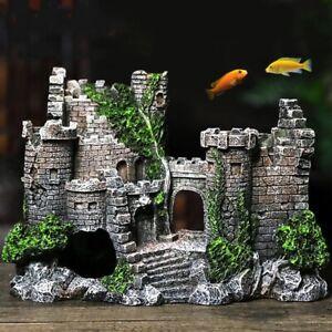New Aquarium Fish Tank Decoration accessories Ancient Castle Decoration