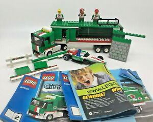 Lego City 60025 Octan Grand Prix Truck (2013) not complete