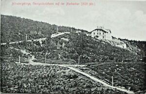 Ak Freiwaldau Jesenik Georgschutzhaus auf Hochschar Altvatergebirge 1912  Ks