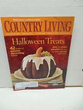 Country Living Magazine October 2006 Pumpkin Cake Antiques Gardens