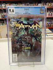 BATMAN #1 Variant (DC Comics, 2011) CGC Graded 9.6 ~ NEW 52 ~ White Pages