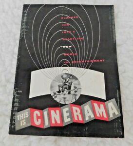 THIS IS CINERAMA Movie Program ArcLight Hollywood Cinerama Dome Lowell Thomas