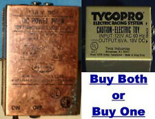 TYCO/ AURORA - LOT OF 2 - RACING POWER SUPPLIES - HO