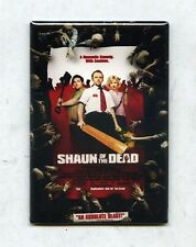 Edgar Wright Movie Poster Magnets w/ Shaun Of The Dead Hot Fuzz & The Worlds End