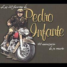 FREE US SHIP. on ANY 2+ CDs! ~Used,Good CD Pedro Infante: 20 Favoritas De Pedro