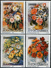 YUGOSLAVIA 1993,Flora-Flower Arrangements,set,MNH