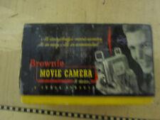 Vintage Kodak Brownie 8 mm movie camera BOX
