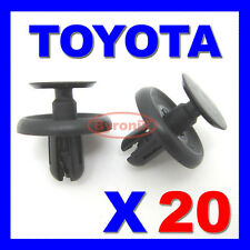 TOYOTA WHEEL ARCH INNER LINING SPLASHGUARD ENGINE UNDER TRAY TRIM CLIPS COVER