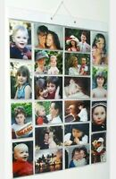 Picture Pockets Mega Hanging Photo Gallery 40 photos in 20 pockets Frame New