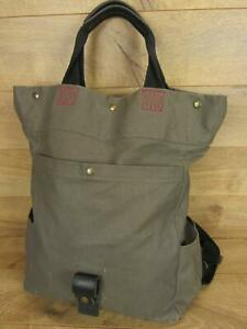 Sons of Trade Petunia Pickle Bottom Tactial Tote Backpack Rugged Teak Diaper Bag