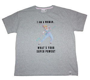 Donna - Toy Story - Bo Peep - Superpower - Vestibilità Larga Casual Top / T