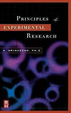 The Principles of Experimental Research by Srinagesh, K