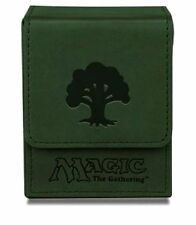 Ultra Pro MTG Magic the Gathering - Flip Mana Deck Box -  Green Forest