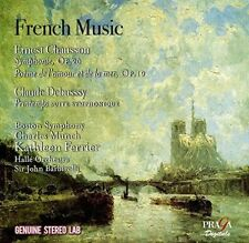 FRENCH MUSIC: ERNEST CHAUSSON, CLAUDE DEBUSSY USED - VERY GOOD CD