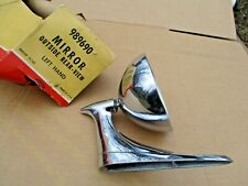 PONTIAC 1961 1962 NOS LH OUTSIDE REAR VIEW SPORT MIRROR (NO GLASS) BONNEVILLE GP