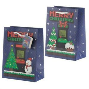 Game Over Christmas Medium Gift Bag, JOBLOT OF 12, New