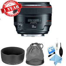Canon EF 50mm f/1.2L USM Lens New w/ Cleaning Kit *1257B002*