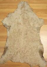 Braun Felle für die Lederbearbeitung und Leder