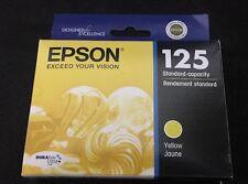 Epson 125 Ink DURA Brite Standard Cartridge Yellow