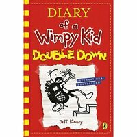 Double Down (Diary of a Wimpy Kid book 11) by Kinney, Jeff, Hardcover Used Book,