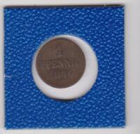 1 Pfennig Hannover 1846 A Ernst August Hanover