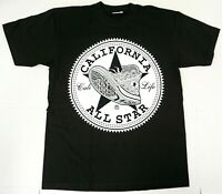 CALIFORNIA ALL STAR T-shirt Cali Life Republic Urban Streetwear Men's Tee New
