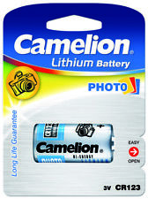Photo Spezial Batterie Foto CR123A Camelion Lithium Battery CR 123 A