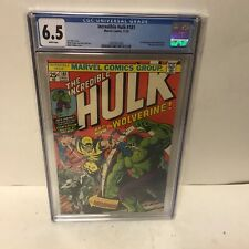 Incredible Hulk 181 CGC 6.5 - 1st full Wolverine - White Pages