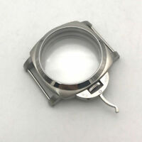 Stainless Steel Watch Case For ETA 6497 6498 Seagull ST36 Movement 39 mm Dial