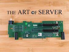 Dell PowerEdge R710 PCI-E PCIe 2x8 Riser MX843 MODIFIED WITH OPEN SLOTS for GPU