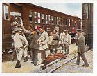 German Soldiers Red Cross Train France Deutsches Heer WWI WELTKRIEG 14/18 CHROMO
