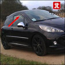 Déflecteurs de vent pluie air teintées pour Peugeot 207 et 207+ 3 portes 3p plus