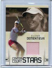 2006 ACE AUTHENTIC CENTER COURT STARS ELENA DEMENTIEVA WORN JERSEY CC-7