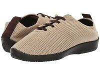 Arcopedico LS Knit Lace-Up Lightweight Vegan Shoes - Beige