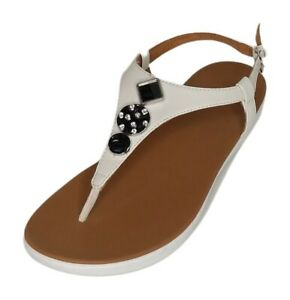 Fitflop Sz 9 Lainey Slingback Toe Post Thong Sandals 710853