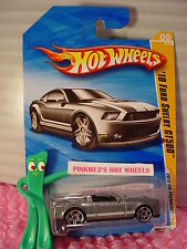 2010 #9 Premier Hot Wheels '10 FORD SHELBY GT500 ☆metallic Gray☆ htf