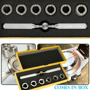 For Rolex and Tudor Case Back Cover Opener - Remover Watch Repair Tool Kit