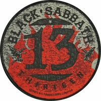 "BLACK SABBATH AUFNÄHER / PATCH # 21 ""THIRTEEN"""