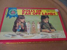 Vintage Paper Dolls~Child Guidance~Dolls of Far Off Lands