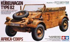 TAMIYA GERMAM WWII KUBELWAGEN TYPE 82 AFRICA CORPS Scala 1:35 Cod.35238