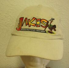 JAKE'S baseball hat National Wild Turkey Federation NWTF youth hunting cap 1981